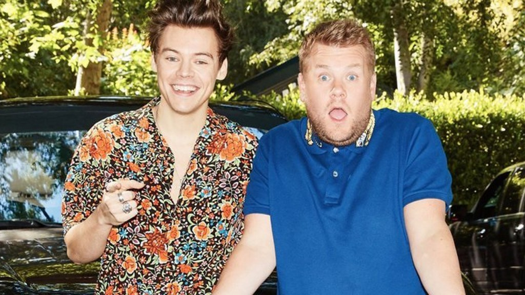 Harry Styles und James Corden