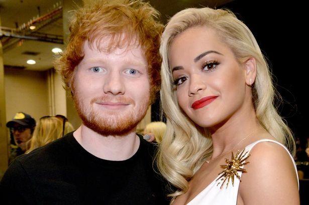 Ed Sehern & Rita Ora